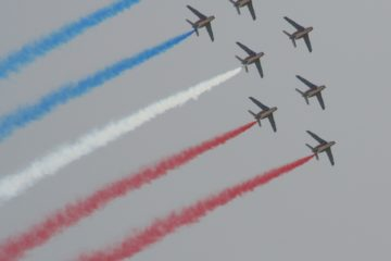 Performance de la patrouille de France
