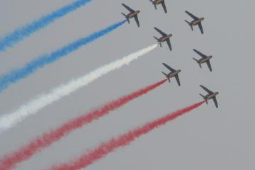 Performance de la patrouille de France